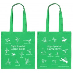 Game Birds Tote Bag