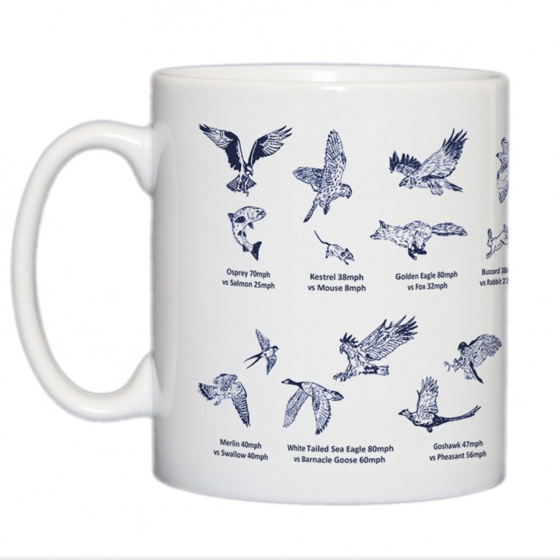 Bird of Prey Hunting Mug