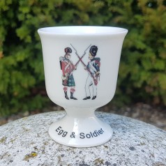 Egg Cup - Egg + Soldier (Battle of Waterloo)