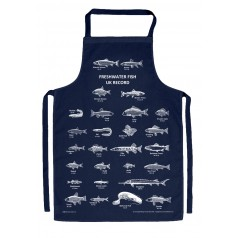 Fishing Records Apron