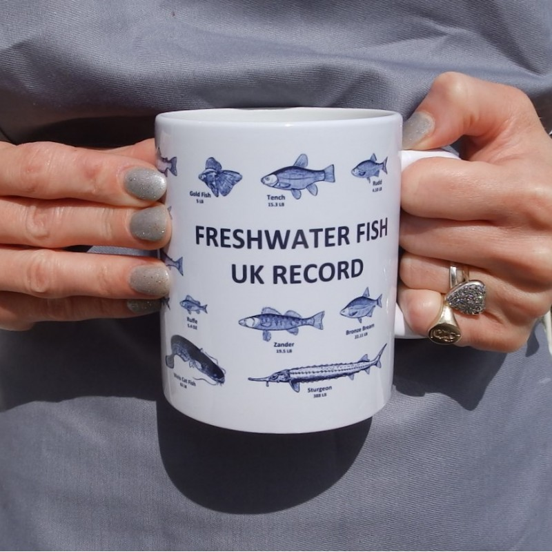 UK Fresh Water Fishing Records Mug