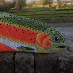 Rainbow Trout Oven Glove
