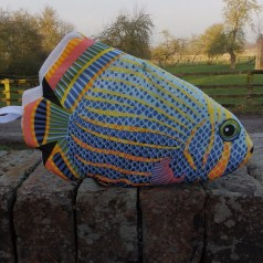 Parrot Fish Oven Glove