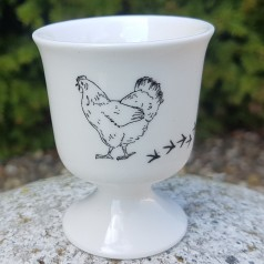 Animal Tracks Egg Cup (Chicken)