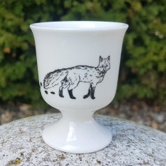 Animal Tracks Egg Cup (Fox)