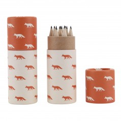 Small Pencil Pot - Fox