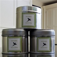 High Bird Candle (basil + hemp)