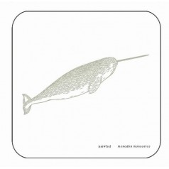 Whale Coaster - Narwhal Whale
